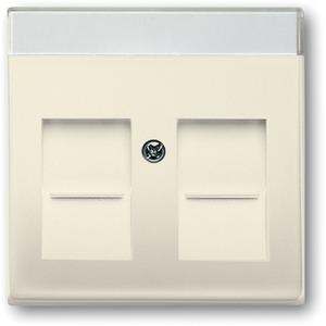 Zentralscheibe für Modular Jack öffnungsschieber und Beschriftungsfeld