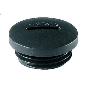 Verschlussschraube 10.1615PA/SW M16x1,5 schwarz