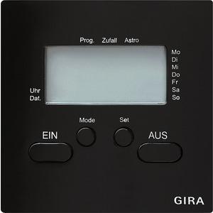 Gira Zeitschaltuhr für S-Color schwarz