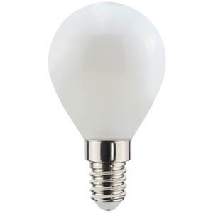 LED Tropfenlampe P45 Filament matt 5W 470lm E14 927 320° dimmbar