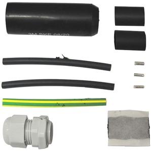 Anschlussgarnitur an Anschlussgehäuse für Heizband PT30/PT60