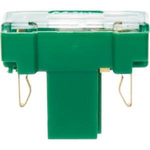 Glühaggregat mit N-Klemme Modul Einsatz grün