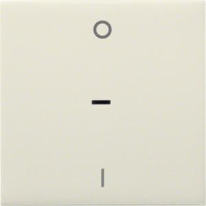 Wippe kallysto mit Kontrollfenster und Kennzeichnung 0/1 Creme