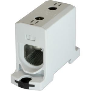 Kompaktaluklemme 1-pol. Cu/AL 25-150mm² 315/250A 1/1 grau