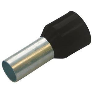 Aderendhülse isoliert 1,5 mm² - L 12 mm schwarz