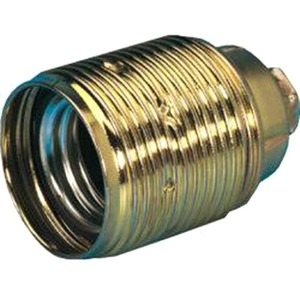 Fassung Metall E27 VM 1/8+Ring