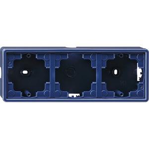 Aufputz-Gehäuse 3-fach für S-Color blau