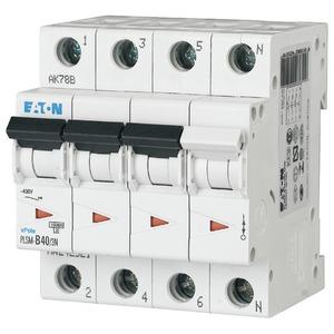 Eaton Leitungsschutzschalter 40A 3-polig+N D-Char