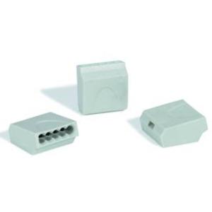HelaCon Easy Steckklemme HECE-5X1.5-PA-GY-100ST grau