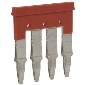 G2RV-Zubehör Verbindungskamm 4-polig rot