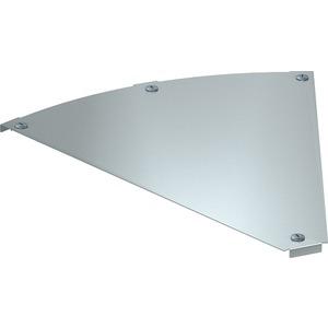 Deckel für 45° Bogen Magic horizontal Stahl bandverzinkt 600 mm