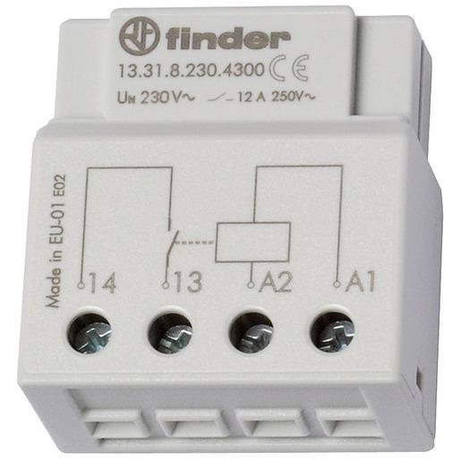 für 230 V AC Prüftaste 2 Schließer 20 A FINDER REG Installationsrelais