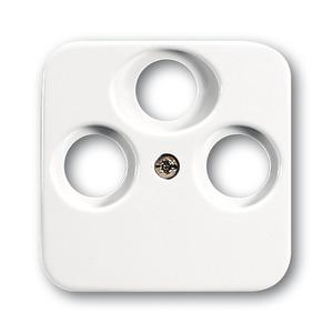 Abdeckung Reflex SI für Antennensteckdosen mit 3 Anschlüsse