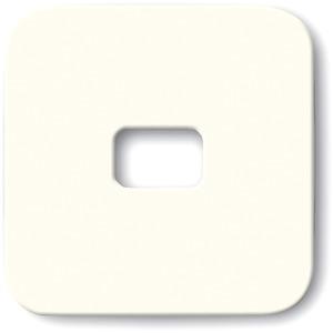 Wippe für Aus Wechsel Kreuz Taster offen für Symbol cremeweiß