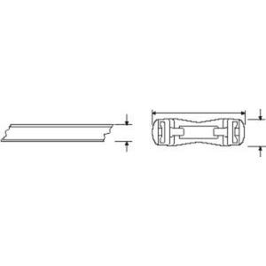 HellermannTyton Kabelbandrolle KR8/S1 HS Natur 50M