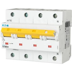 Eaton Leitungsschutzschalter 25A 3-polig+N C-Char