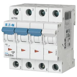 Eaton Leitungsschutzschalter 20A 3-polig+N D-Char