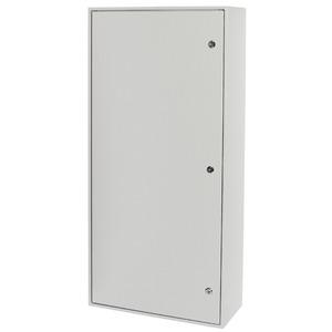 Aufputz Feuchtraum Verteiler grau mit Doppelbart Verschluss 400/10