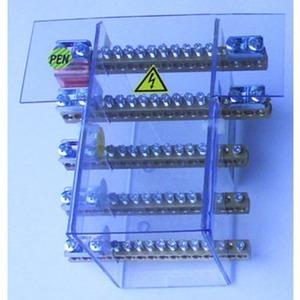 Sammelschienensystem 125A/4pol Anschlußmöglichkeiten 10x10mm2