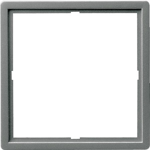 Adapterrahmen 50x50 quadratisch für E22 Edelstahl