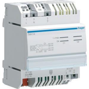 Spannungsversorgung 1Ausgang / 1 Drossel / 320mA+24VDC 640mA
