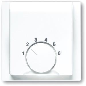 Zentralscheibe impuls für Raumtemperaturregler 1094 U 1097 U alpinweiß