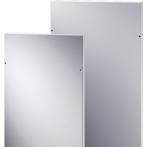 Seitenwände Paar für Schränke HxT 2000 X 500 mm RAL 7035