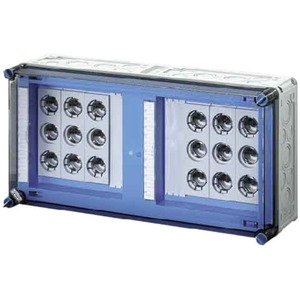 Hensel MI 3463 MI-Sicherungsgehäuse 6x3x63A DIII E33