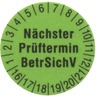 Prüfetiketten 15 mm GRÜN - VPE = 250 Stück