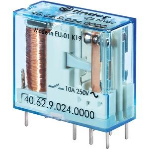 Relais mit Steck- und Printanschlüssen 2 Wechsler für 10 A Spule 110 V DC sensit