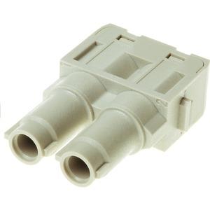 Modul Han 70 A Axial Buchse 2 Kontakte 70 A 1000 V