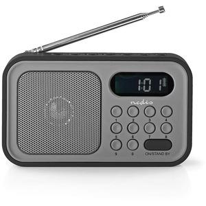 Radio Portable UKW Uhr und Alarm RDFM2200BK