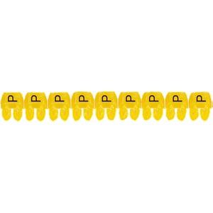 """CAB 3 Kabelkennzeichnung 0,5 - 1,5 mm² Buchstabe """"P"""""""