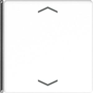 4-fach Taste mit Symbolen Pfeil Serie A / AS alpinweiß