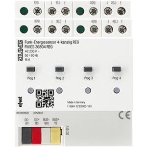 Funk - Energiesensor 4-kanalig REG eNet