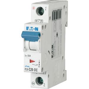 Eaton Leitungsschutzschalter 20A 1-polig C-Char DC