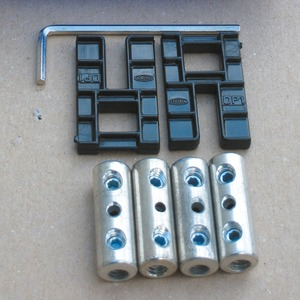 Schraubverbinder Satz von 2,5 bis 6 mm²
