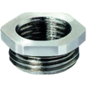 Reduktion M63M50/6/OM M63x1,5 und M50x1,5 Messing/Vernickelt