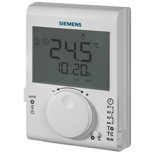 Siemens Raumtemperaturregler LCD 5 - 30 °C T/N 2-Punkt (TPI)
