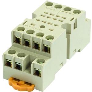 Sockel für DIN-Schienen-Montage/Oberflächenmontage 14-polig Schraubkl.