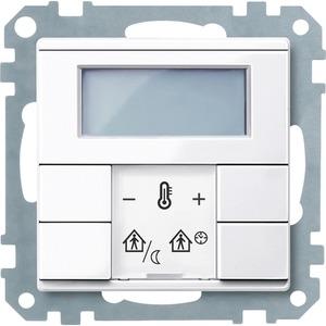Raumtemperaturregler mit Display aktivweiß glänzend