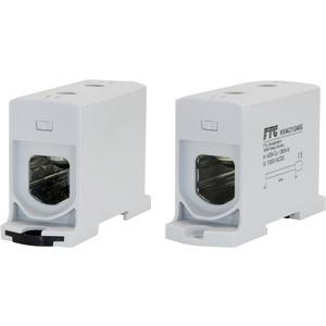 Kompaktaluklemme 1-pol. Cu/AL 35-240mm² 400/315A 1/1 grau