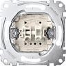 Rollladenschalter-Einsatz 1-polig 10 A AC 250 V Steckklemmen