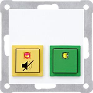 Dienstzimmereinheit für Notrufsystem Schraubbefestigung