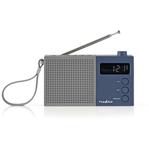 Radio Portable UKW Uhr und Alarm RDFM2210BU