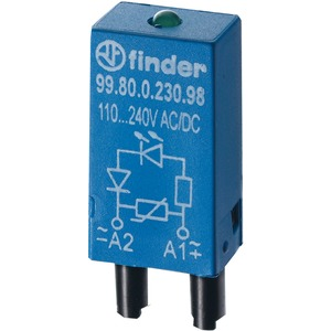 Modul-EMV LED-grün + Varistor 110 - 230 V AC /DC Serie 99