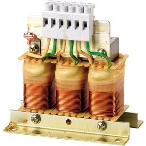 Netzdrossel AC 3-phasig 50 A 0,37 mH 550 V 50/60 Hz