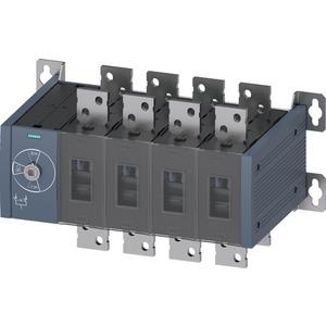 Handbetätiger Netzumschalter MTSE Baugr. 5 1600A 4-polig Frontantrieb