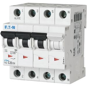 Leitungsschutzschalter 15A 3p+N C-Char 400V AC IP20