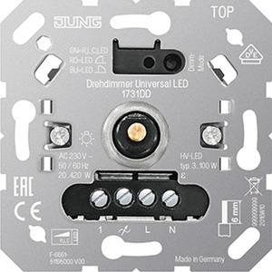 Drehdimmer Universal LED Einsatz Inkrementalgeber mit Nebenstelleneingang